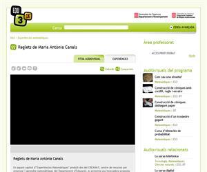 Reglets de Maria Antònia Canals (Edu3.cat)