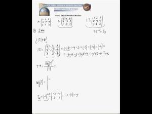 Producto e inversa de matrices