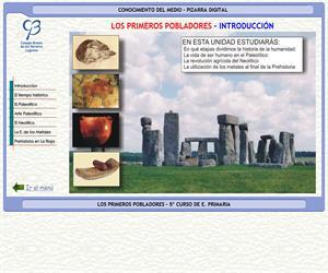Historia. Los primeros pobladores – Conocimiento del medio – 3º Ciclo de E. Primaria – Unidad didáctica.
