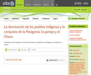 La dominación de los pueblos indígenas y la conquista de la Patagonia, Pampa y Chaco