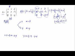 Diagonalización de una matriz 3x3