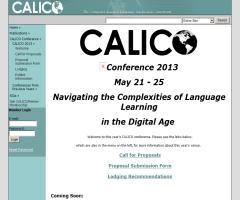 CALICO 2013 / Navegando por la complejidades del aprendizaje lingüístico en la era digital