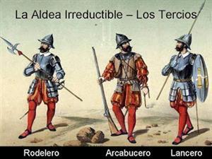 Los tercios españoles, historia de los siglos XVI y XVII