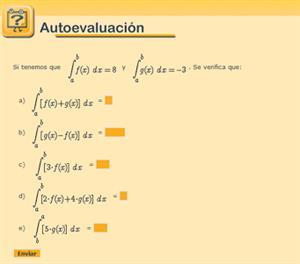 Poniendo límites a la integral.  El cálculo más definido