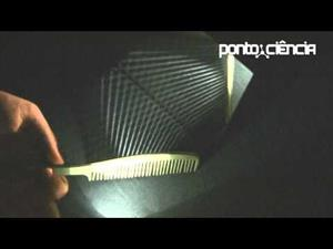 Ángulos de incidencia y reflexión de haces de luz (Pontociência)