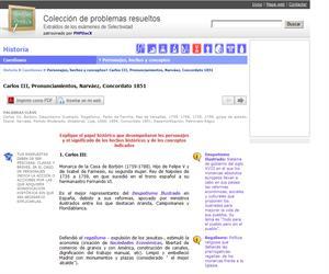 Carlos III, Pronunciamientos, Narváez, Concordato 1851. (Selectividad.tv)