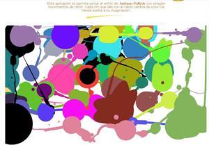 Dibuja como Pollock (arteymercado.com)