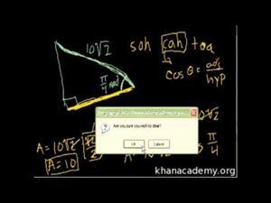 El uso de funciones trigonométricas - parte 1 (Khan Academy Español)