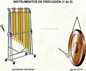 Instrumentos de percusión (Diccionario visual)
