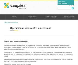Operacions i límits entre successions