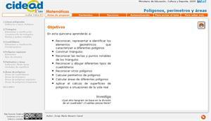 Polígonos, perímetros y áreas (cidead)