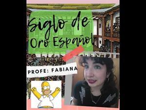TEATRO 🎭: Siglo de Oro español con Homero Simpsons PROFESORA: FABIANA BEATRIZ ELICHONDOBORDE