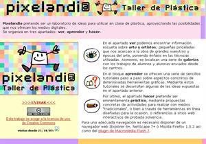 Pixelandia. Laboratorio de educación plástica para niños