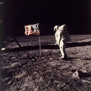 Imágenes sobre la llegada del hombre a la Luna (El País)