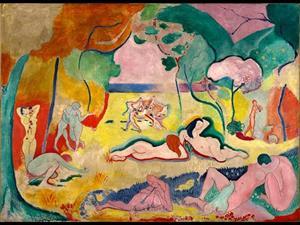 La alegría de vivir, de Matisse