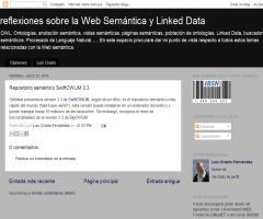 Repositorio semántico SwiftOWLIM 3.3 - lcriadof.blogspot.com