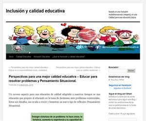 Perspectivas para una mejor calidad educativa – Educar para resolver problemas y Pensamiento Situacional.