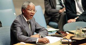 Hablar en favor de la justicia. Nelson Mandela (ONU)