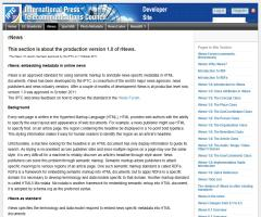 rNews: embedding metadata in online news