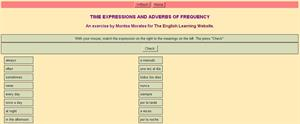 Time Expressions and Adverbs of Frequency (montsemorales)