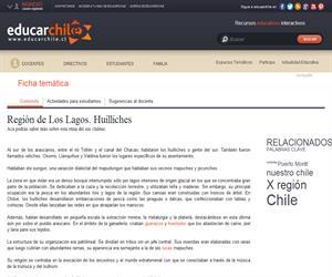 X Región Huilliches (Educarchile)