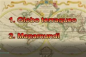 Características del globo terráqueo y mapamundi (Educarchile)