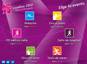 London 2012, Juego oficial
