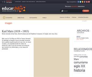 Karl Marx (1818 - 1883) (Educarchile)