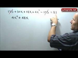 Ecuación cuadrática en un problema de geometría (JulioProfe)