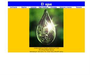 El Agua: Unidad didáctica para 1º ESO