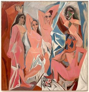 Las señoritas de Avignon. Pablo Picasso.