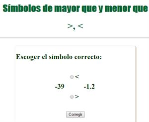 "Símbolos ""menor que"" y ""mayor que"""