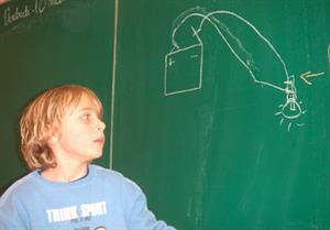 Electricité et cahier d'expériences