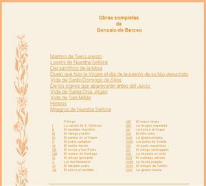 Gonzalo de Berceo: obras completas