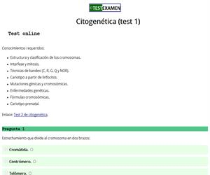 Test de citogenética (1)