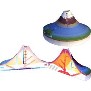 Recortable del Monte Fuji: mecanismos de un volcán. Canon Creative Park