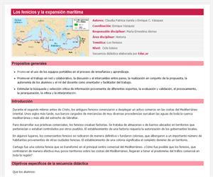 Los fenicios y la expansión marítima