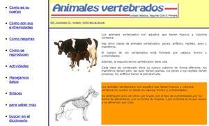 Animales vertebrados (unidad didáctica)