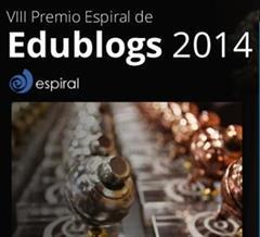 Ganadores del VIII Premio Espiral Edublogs (2014)