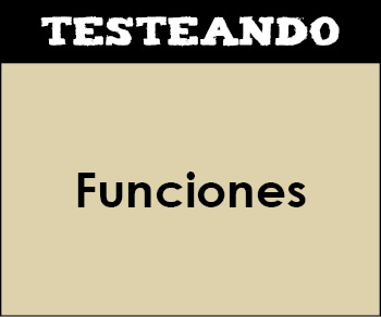 Funciones. 2º Bachillerato - Matemáticas (Testeando)