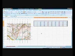 3d superficies gráficos en Excel (Office 2007)