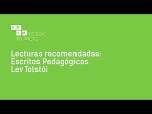 Escritos Pedagógicos de Lev Tolstói #reseña
