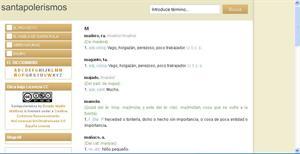 Santapolerismos - Diccionario de localismos en línea