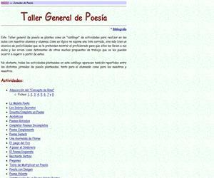 Taller general de Poesía, un abanico de recursos para los docentes