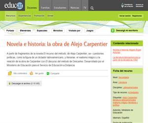 Novela e historia: Alejo Carpentier