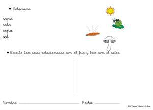 Cuaderno de refuerzo Lengua de 1ª de Primaria. M Carmen Tabarés
