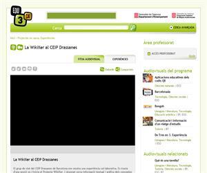 La WikiXer al CEIP Drassanes (Edu3.cat)