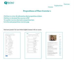 Preposiciones de lugar (ejerciciodeingles.com)