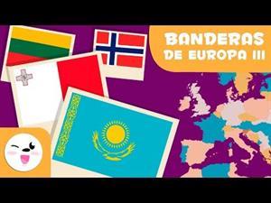 Las banderas de Europa III