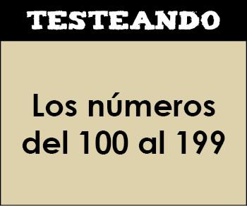 Los números del 100 al 199. 2º Primaria - Matemáticas (Testeando)